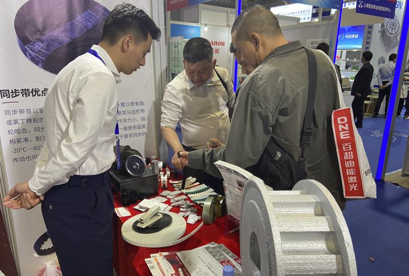 我公司参加2021年CME上海国际机床展 我公司在5-E38展位